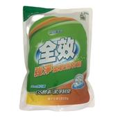 全效 強淨柔軟洗衣精補充包-梔子花香 (1800g/包)