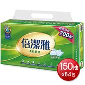 倍潔雅 柔軟舒適抽取式衛生紙 (150抽*14包*6袋)
