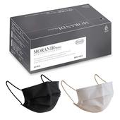 水舞 成人醫療平面口罩 (莫蘭迪混色款-黑盒2色各15片共30片/盒)