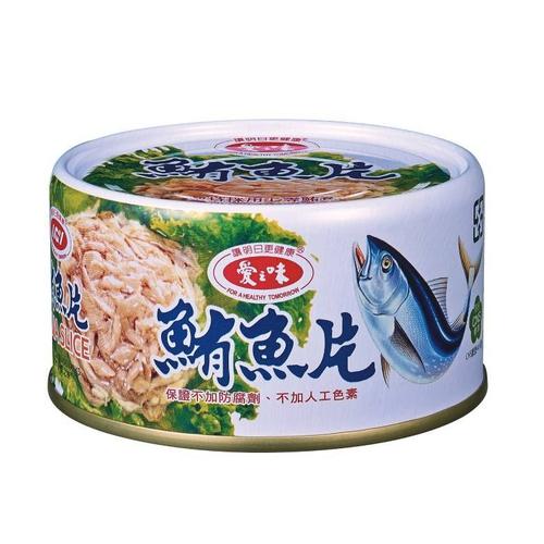 愛之味 鮪魚片(185g*3罐/組)
