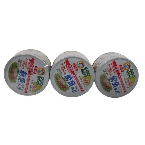 遠洋 水煮鮪魚罐(90g*3罐/組)