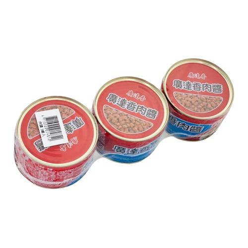 廣達香 肉醬-原味(3入/160g)
