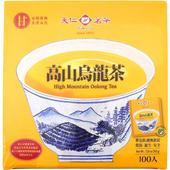 《天仁》防潮包高山烏龍茶袋茶2g*100包/盒 $145