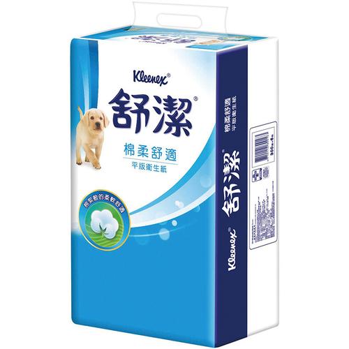 舒潔 平版衛生紙(300張*6包/串)