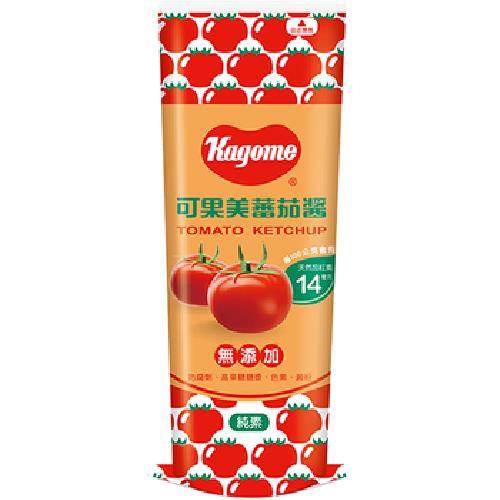 可果美 蕃茄醬柔軟瓶(500g)