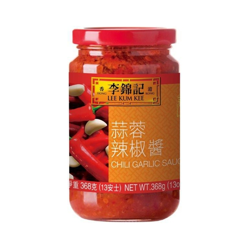 《李錦記》辣椒醬-蒜蓉(368g/瓶)