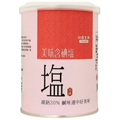 《台鹽》健康美味鹽(600g/罐)