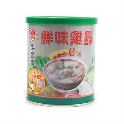 牛頭牌 鮮味雞晶(500g/罐)