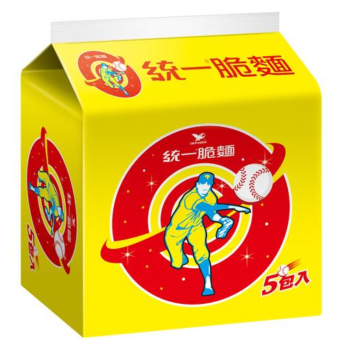 《統一》脆麵(55gx5包/組)