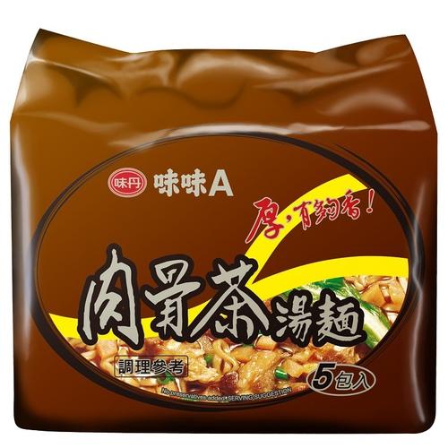 味丹 味味A肉骨茶麵(85gx5包/組)