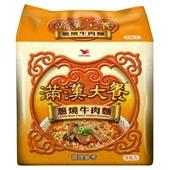 《統一》滿漢大餐-蔥燒牛肉麵(187gx3包/組)