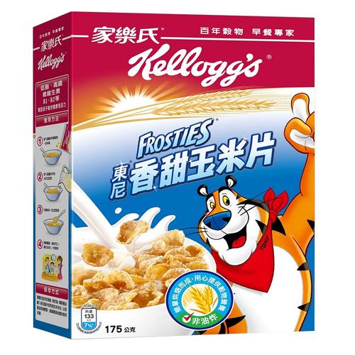 家樂氏 東尼香甜玉米片(175g/盒)