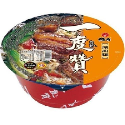 維力 一度贊-爌肉麵(200g*2碗/組)