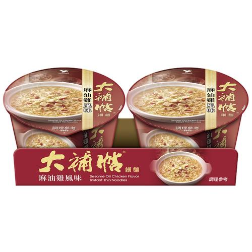 統一 大補帖麻油雞風味細麵(105g*2入/組)