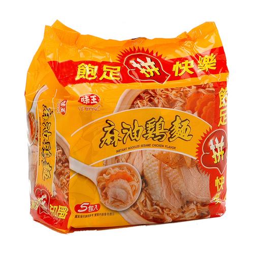 味王 麻油雞湯麵(90g*5包/組)