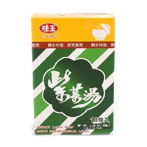 味王 紫菜湯(35gx3盒/組)