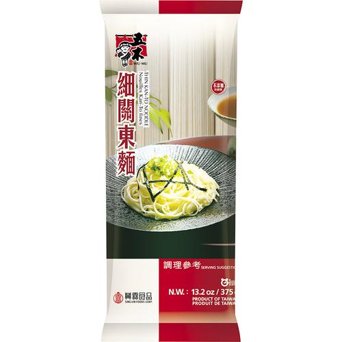 《五木》細關東麵(375g/包)