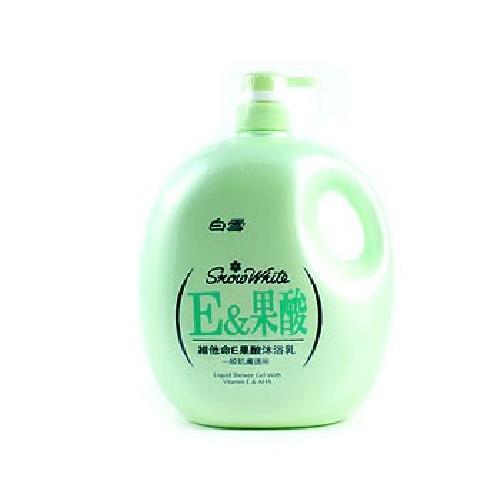 白雪 E&果酸沐浴乳(2000ml)