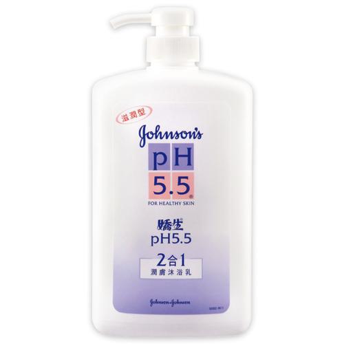 嬌生 PH5.5二合一潤膚沐浴乳(1000ml)