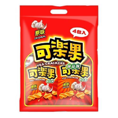 《聯華》可樂果原味量販包(57g*4包/袋)