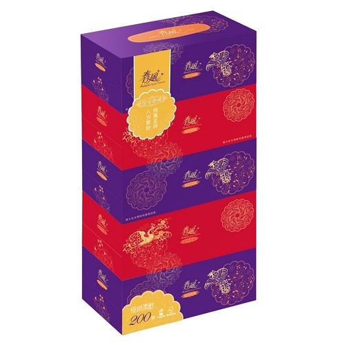 春風 新優質面紙(200抽*5盒/串)