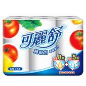 《可麗舒》廚房紙巾60P*6捲/組 $84