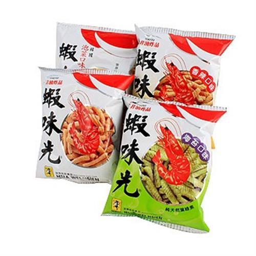 裕榮 蝦味先家族組合包(60G*4包/袋)