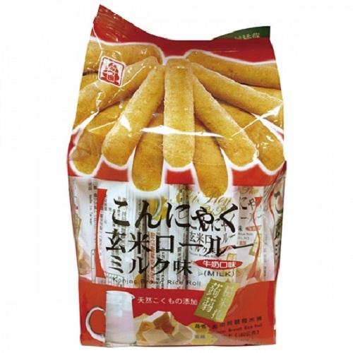 北田 蒟蒻糙米捲-牛奶