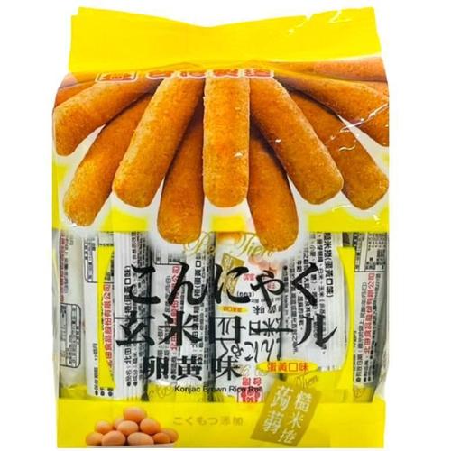 《北田》蒟蒻糙米捲-蛋黃(160g/包)