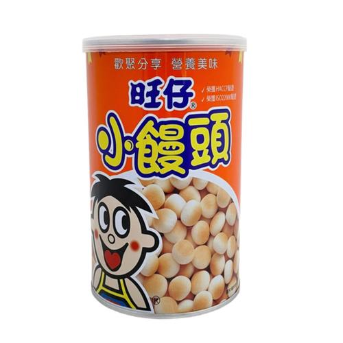 旺旺 旺仔小饅頭-媽媽罐(210g/罐)