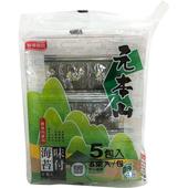 《聯華》元本山海苔(5.2公克(6束入) *5包)