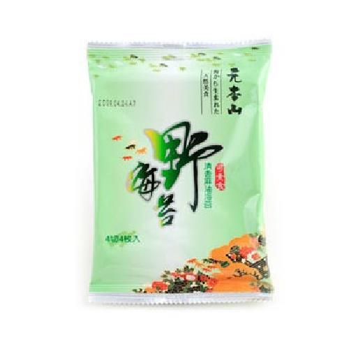 聯華 元本山野海苔(4切4枚*5包/組)