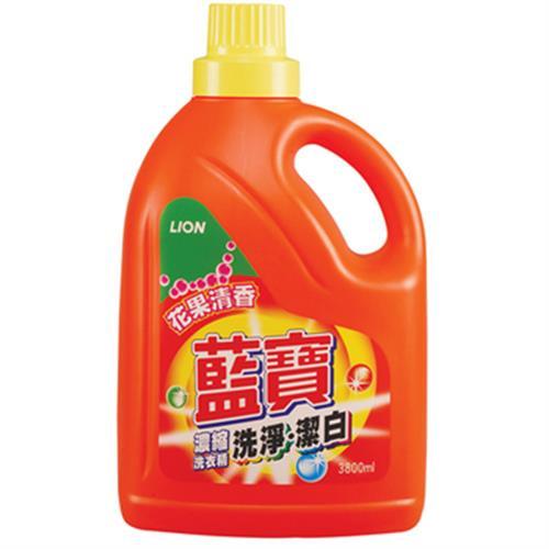 藍寶 洗淨防霉濃縮洗衣精(3800ml/瓶)