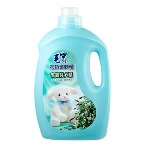 毛寶 衣物柔軟精-有氧芬多精(3200ml/瓶)