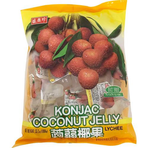 《盛香珍》蒟蒻椰果果凍-荔枝(1000g/包)