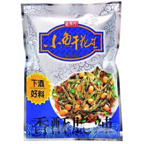 盛香珍 小魚干花生(80g/包)