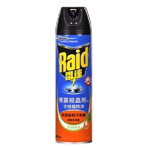 《Raid雷達》噴霧殺蟲劑-柑橘精油(500ml/瓶)