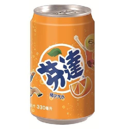 芬達 橘子汽水(330ml*6罐/組)