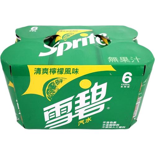 雪碧 雪碧汽水(330ml*6罐/組)