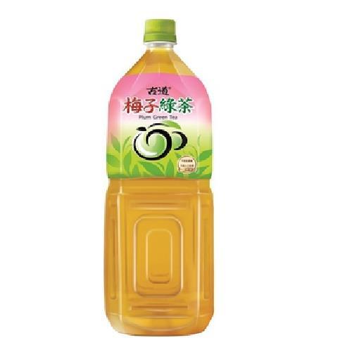 古道 梅子綠茶(2000ml/瓶)