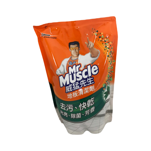《威猛先生》愛地潔地板清潔-補充包-森林芬多精(1300+500ml/包)
