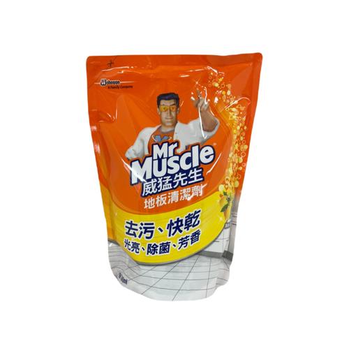 《威猛先生》地板清潔-補充包-檸檬(1800ml/包)