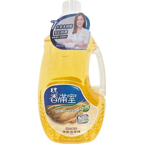 毛寶 香滿室地板清潔劑-檀木馨香(2000g/瓶)