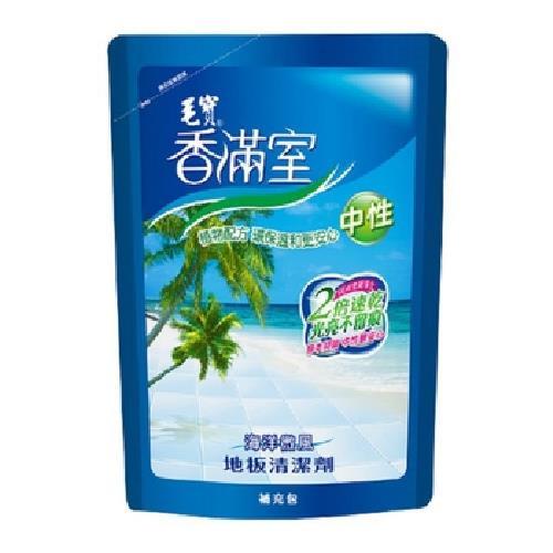 毛寶 香滿室地板清劑補充包-海洋微風(1800g/包)