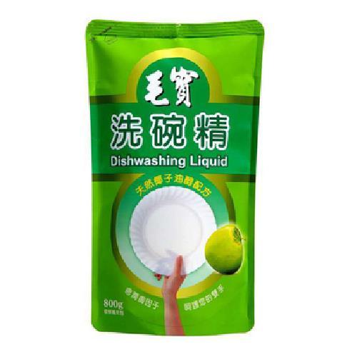 毛寶 洗碗精補充包-椰子油(800g/包)