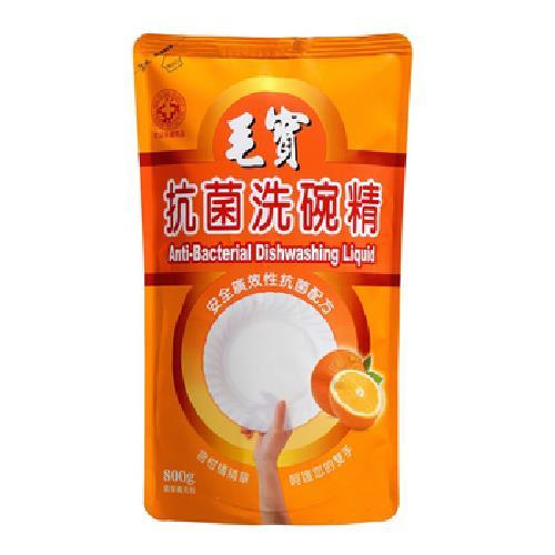 毛寶 洗碗精補充包-柑橘抗菌(800g/包)