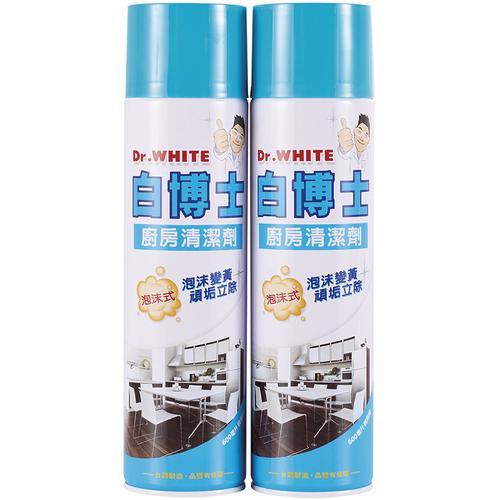 《白博士》泡沫廚房清潔劑(600ml*2瓶/組)
