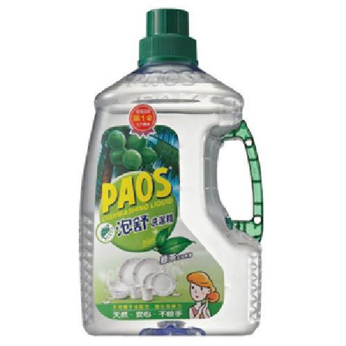 《泡舒》洗潔精-綠茶(2800ml/瓶)