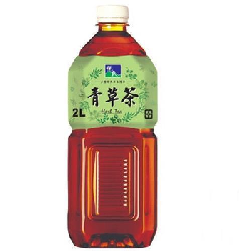 悅氏 青草茶(2000ml/瓶)