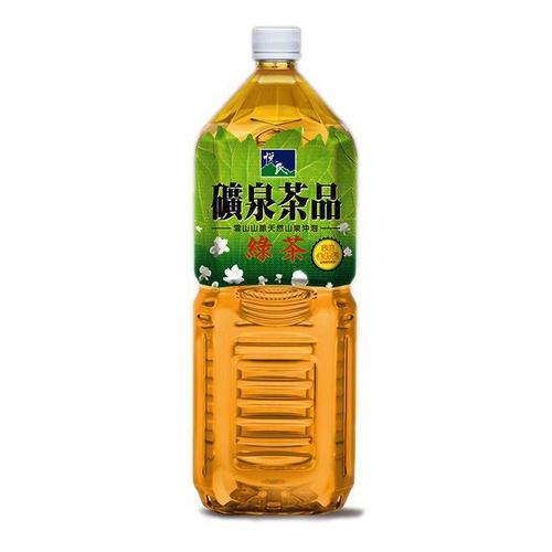 悅氏 礦泉綠茶(2000ml/瓶)